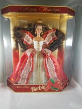 Mattel 1997 #17832 Happy Holidays Barbie Special Edition NRFB - $20.56