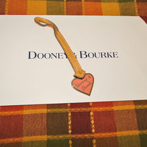 Dooney & Bourke Leather Heart Purse Charm image 3