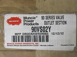 Muncie 90 Series Valve Outlet Section 90VS02Y New image 4