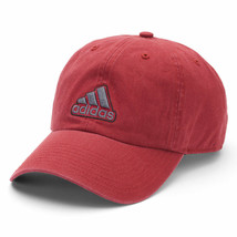 "NEW! Burgundy adidas Men's Fit CLIMALITE Adjustable Day ""Ultimate"" Cap - $44.43"