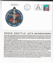 STS-92 DISCOVERY KENNEDY SPACE CENTER FL OCTOBER 11 2000 WITH INSERT CARD - $1.78