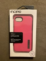 NEW Incipio DualPro Dual-Layer Case iPhone 6 / 6s / 7 / 8 Hot Pink iPhon... - $9.49