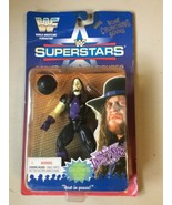 1996 WWF Superstars Series II Undertaker Action Figure Flesh Glows In Th... - $39.95