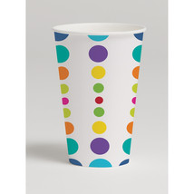 12 oz Hot/Cold Paper Cups Birthday Pop, Case of 96 - $54.94