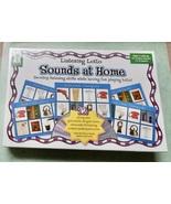 Listening Lotto Sounds at Home CD & 12 Photo Game Boards KE-846006 NIB U... - $11.49