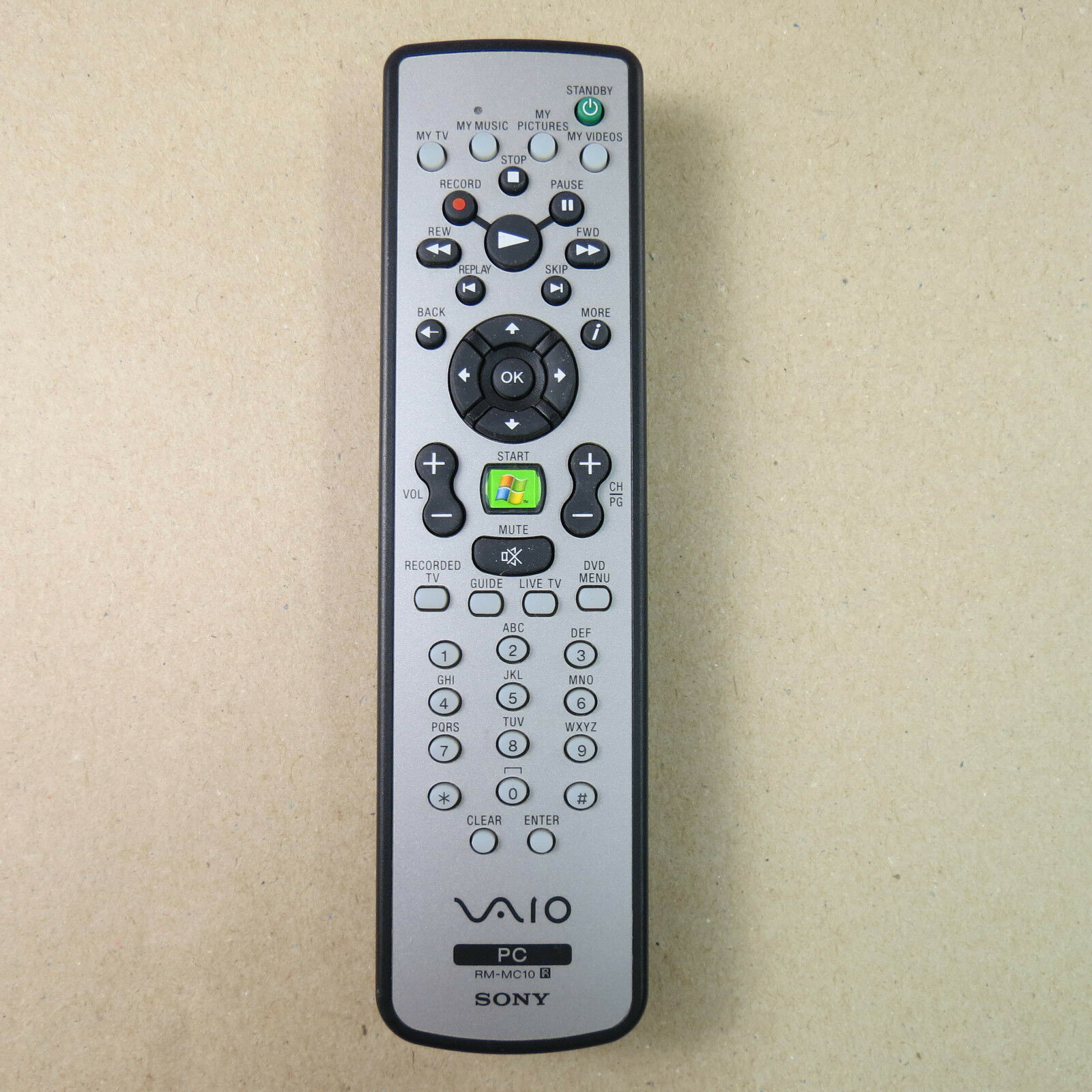 Sony Vaio RM-MC10 Pc Remote Control and 50 similar items