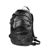 beetle shape creative teenagers cool snakeskin pattern PU backpack - $48.00