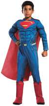 Rubie's Costume: Dawn of Justice Deluxe Muscle Chest Superman Costume, Large - $62.63