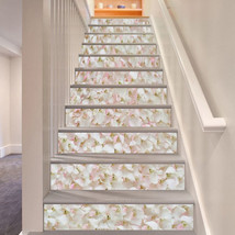 3D Kirschblüte 746 Stair Risers Dekoration Fototapete Vinyl Aufkleber Tapete DE - $85.64+