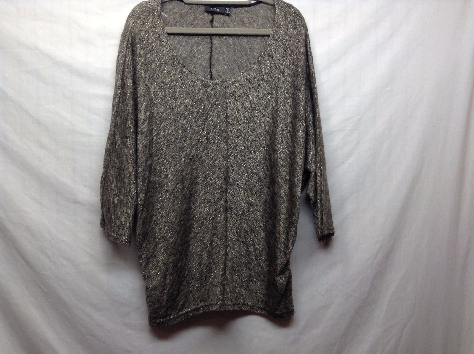 Apt 9 Women's Scoop Neck Flowy 3/4 Sleeve Top Sz 0X