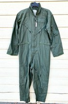 Nwt Us Air Force Usaf Nomex Fire Resistant Flight Suit Green CWU-27/P - 42R - $123.75