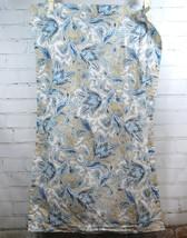 Ralph Lauren Analia Paisley (Indigo Blue, Tan) Tulip Floral - KING PILLO... - $39.50