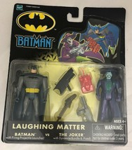 2002 HASBRO BATMAN VS JOKER LAUGHING MATTER FIGURE 2-PACK DC New Actions... - $18.81
