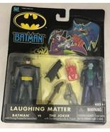 2002 HASBRO BATMAN VS JOKER LAUGHING MATTER FIGURE 2-PACK DC New Actions... - $18.81