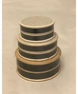 miniature 3 Round Paper Box in one - $4.95