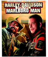 HARLEY DAVISON & MARLBORO MAN - Signed Autographed Cast Photo w/COA 40071 - $125.00