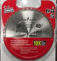 "Vermont American 27256 10"" x 40 Tooth Carbide Circular Saw Blade - $19.80"