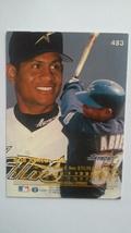Bobby Abreu 1996 Fleer Ultra Rookie Card #483 Houston Astros Free Shipping image 2