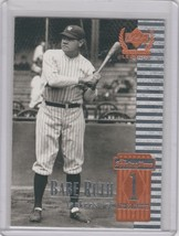1999 Upper Deck Century Legends - Sample #1 Babe Ruth - $1.00