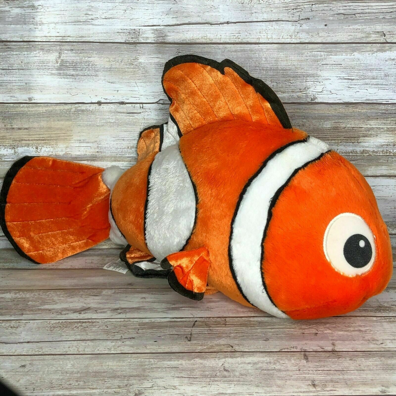 Primary image for Disney Store Finding Nemo Stuffed Animal Plush Large 18″ Long