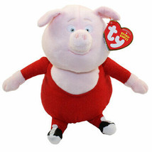 Ty Gunter Pig. Cartoon Sing. Official Plush Toy . New 8 inches - $14.69
