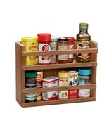Whitecap Teak Two-Tier Spice Rack - $127.54 CAD