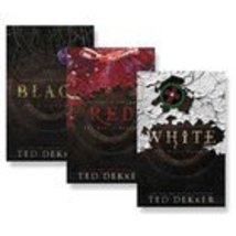 Black Red White - Circle Trilogy 3 Books TED DEKKER [Paperback] Ted Dekker - $29.65