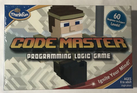 New ThinkFun Code Master Programming Logic Game Ignite your Mind - $9.49