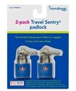 Travel Smart Luggage Padlock - Blue - $7.99