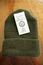 Us Army G.I. Cold Foul Weather Combat Nwu Bdu Knit Od Olive Drab Green Watch Cap - $16.82