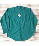 Vtg Pier Connection 100% Cotton Men Shirt Size XL - $19.80