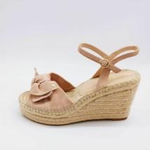 Kate Spade New York Womens Fanni Espadrille Sandals Pink Wedge Heels 10 M New - $99.98