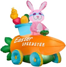 NEW! EASTER INFLATABLE YARD AIRBLOWN BUNNY US - €78,46 EUR