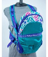 FISHER PRICE DELUXE PERFECT SUPPORT BABY CARRIER PURPLE GREEN # 9249 - $19.79