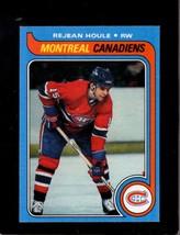1979-80 Topps #34 Rej EAN Houle Nm Canadiens *X5099 - $2.23