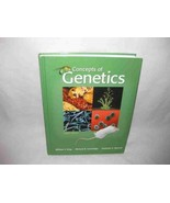 Concepts of Genetics Klug Cummings Spencer 2008 8th Edition Book - $83.13
