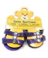 Build A Bear Accessories Bear Bootique Purple Gem Heel Dolls Toys Shoes ... - $7.88