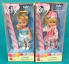 Barbie The Nutcracker Sister Kelly Doll As Peppermint Girl & Snow Fairy ... - $19.95