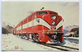 Green Bay Western Alco FA-1 Railroad Train Mississippi River Highlands p... - $6.39