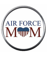 USAF Air Force Mom Love Our US Military Troops 18MM - 20MM Snap Jewelry ... - $5.95
