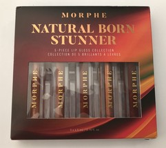 Morphe Natural Born Stunnder 5 piece lip Gloss Collection - $29.95