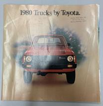 1980 Trucks by Toyota Original Car Sales Brochure Catalog rare - $18.69
