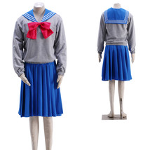 Sailor Moon Mercury Cosplay Costume Autumn Sailor Suit School Uniform - $72.83