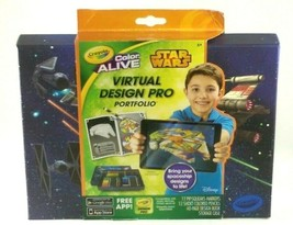 Crayola Virtual Design Pro Star Wars Coloring Book Kids Coloring Books - $2.96