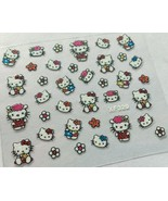 BANG STORE Nail Art 3D Glitter Decal Stickers Hello Kitty Flowers CUTE K... - $3.67