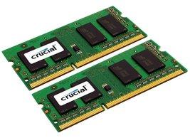 Crucial 16GB Kit (8GBx2) DDR3L 1333 MT/s (PC3-10600) CL9 204-Pin SODIMM ... - $200.00