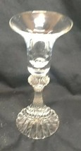 "Mikasa Crystal The Ritz Single Light Candlesticks 6 1/4"" Candle Holder - $11.54"