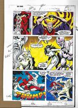 Original 1983 Red Sonja 3 page 33 Marvel Comics 1980s color guide production art - $19.80