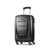 "Samsonite Winfield Hardside Luggage Brushed Anthracite 20"" Travel Suitca... - $129.49"