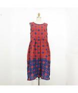 M - Ace & Jig Teasdale Sleeveless NWT NEW Dress in Copper Diamond Print ... - $180.00